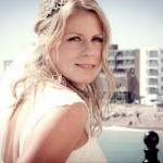 bride, wedding, hair, makeup, blonde