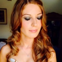 Claire created stunning smokey eyes for Fran