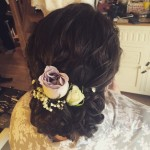 Bride Joanna's hair by Holly