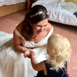 Lovely bride Lucy and her daughter