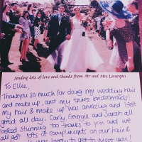 Testimonial for Elloise India Weddings Hair and Makeup
